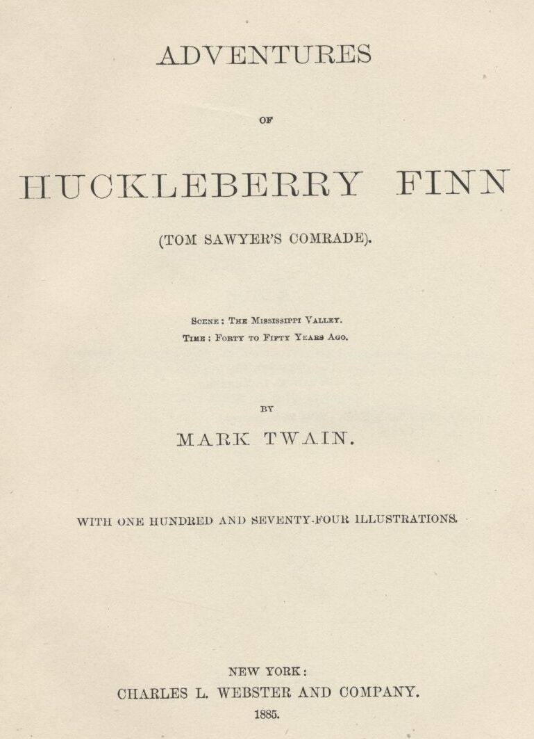 controversy the adventures of huckleberry finn English iii, semester 2: huckleberry finn  the controversy that surrounds the novel the adventures of huckleberry finn is partially due to the fact that schools .
