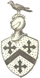 The starling as the crest of arms