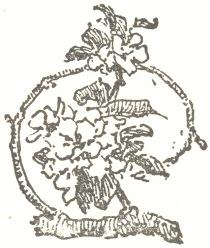 Decorative graphic of wreath