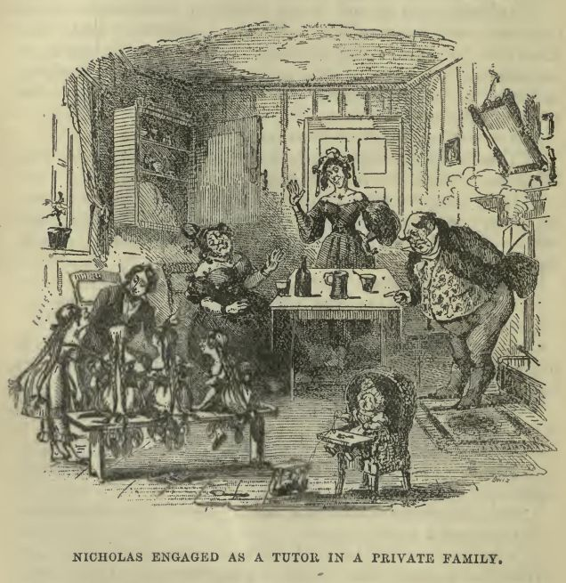 The Life and Adventures of Nicholas Nickleby, by Charles Dickens