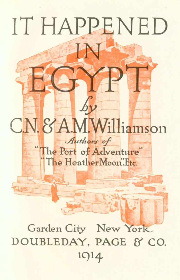 d3f5e8cadbc The Project Gutenberg eBook of It Happened in Egypt